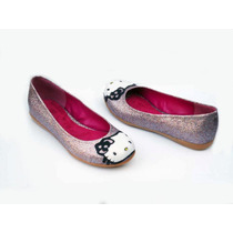 Hello Kitty Custom Flats