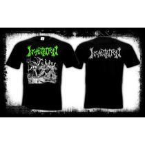 Incantation - Blasphemous Cremation Camiseta Death Metal
