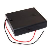 Caja Para Baterías 4xaa Con Interruptor