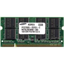 Memoria Ram 1gb Pc2700 Ddr 333 Mhz Sodimm Para Laptop