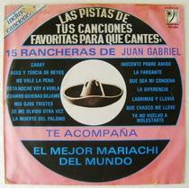 Pistas De Canciones 15 Rancheras Juan Gabriel 1 Disco Lp
