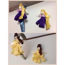 Artesania En Broches De Princesas De Listón
