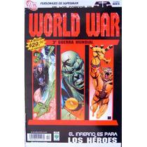 World War / 52 / Dc Comics / Ed. Vid / Liga De La Justicia