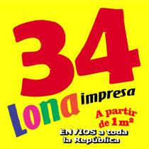 Lona Impresa Impresión Lona Gallardetes Vinil Microperforado