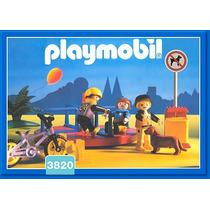 Playmobil Set 3820 Niños Con Juego Giratorio Nuevo De 1994