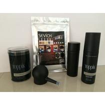 Fibras Capilares 100 Gr + Spray + Envase Aplicador + Bomba A