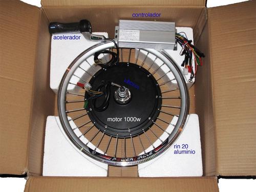Kit Conversi N De Bicicleta El Ctrica 1000 Watts
