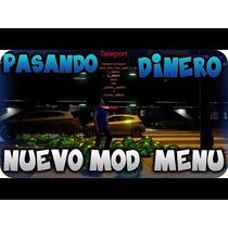 Disco Con Mod Menu Para Gta V En Xbox 360 Listo Para Jugar !