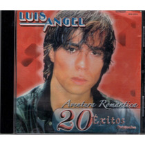 Cd Luis Angel Aventura Romantica 20 Exitos 2004 Rm4