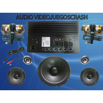 Kit Completo De Audio Ideal Para Rockolas A Solo $1895 Pesos