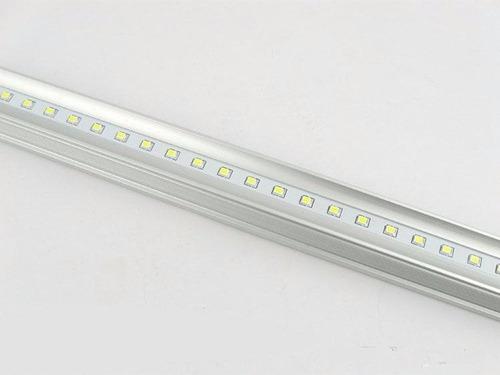 Tubo t8 led 18w cristal caja con 30 piezas 2600 bxb0t - Fluorescente led precio ...