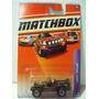 Matchbox Jeep Willys Militar No 65 Metal
