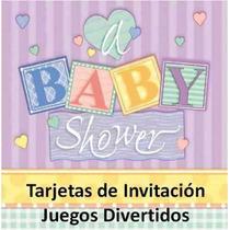 Kit Imprimible Baby Shower Bautizo Juegos Y Mucho Mas #2