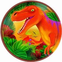 Dinosaurios 8 Platos Articulos De Fiesta Desechables