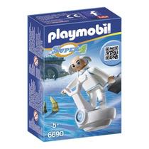 Playmobil 6690 Doctor X Con Vehículo Volador Js