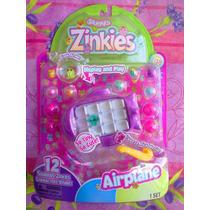 Squinkies Zinkies Figuras Miniatura Set De Aeroplano
