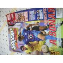 Revista Soccermania 2003 América Vs Cruz Azul Vv4