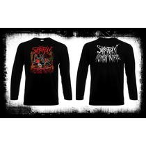 Suffocation - Human Waste Camiseta Manga Larga Death Metal