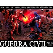 Marvel Comics - Civil War Completo