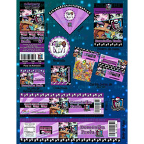 Invitaciones Monster High-paquete Fiesta Monster High #2