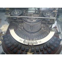 Coleccion De Maquinas De Escribir Muy Antiguas