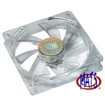 Ventilador Cooler Master Blue Led 2 Piezas 120mm X 120mm Mmy