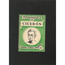 Pensamientos De Ciceron Edicion 1807