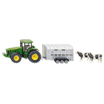 Toy Tractor Agricola - Siku John Deere W Ifor Williams Remol