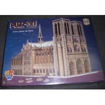 Iglesia Notre Dame Catedral Armar Enorme Puzz 3d 952pz Hm4