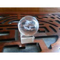 Esfera De Cristal Con Dragón!!!!!!!! Feng Shui Fn4