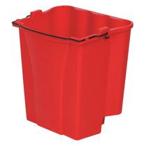 Cubeta Agua Sucia Para Combos 18 Cuartos Roja Polipropileno