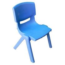 Silla Infantil Azul Plástico 1 Pza 31x36x50 Cm 6m+ Biyu Gpl