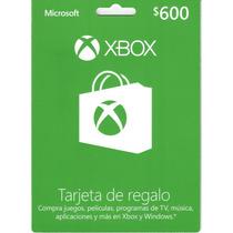 Dinero Xbox Live $600 Envio Rapido ::microsoft Points::
