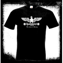 Haggis - Logo Camiseta Indie Folk Rock Canadiense