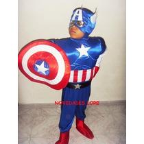 Disfraz Capitan America Escudo Mascara Hulk Iron Man Thor