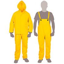 Conjunto Impermeable Amarillo Talla Ch Truper 14417