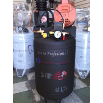 Compresor De Aire Portatil 3/4 Hp 48 Litros