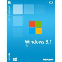 Windows 8.1 Pro 32 Y 64 Bits | Licencia Original Para 1 Pc