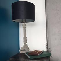 Lámpara De Concreto Estilo Industrial: Decoración Del Hogar