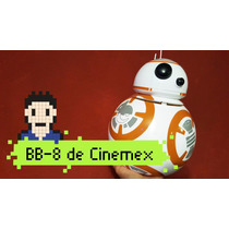 Cubeta Bb8 Tooper Palomero Bb-8 Cinemex Star Wars