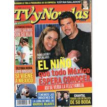 Lucero Y Mijares En Portada De Tv Y Novelas 2001 Mn4