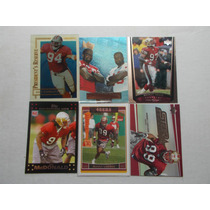6 Tarjetas Dt B Young,m Lawson San Francisco 49ers