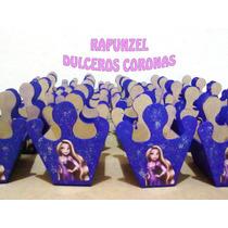 Dulceros Coronas Rapunzel Enredados Infantil Cajitas Dulces
