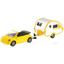 Siku Vw Beetle Cabrio Remolque 1/64 / Hotwheels Matchbox