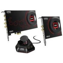 Creative Sound Blaster Zxr Pcie Audiophile Grado Gaming Tarj