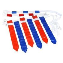 Wyzworks 36 Banderas Y 12 Cinturones - Velcro Flag Football