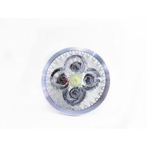 Foco De 5 Led Spot Gu10 De Aluminio Luz Calida Y Blanca Fria