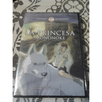 Princesa Mononoke Estudio Ghibli Dvd Hayao Miyazaki Original