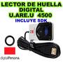 Scanners Lectores De Huella U.are.u 4500, Digital Persona