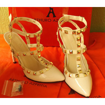 Zapatillas Finas Arthuro-azpeitia Plataform Moda Dama Tacon